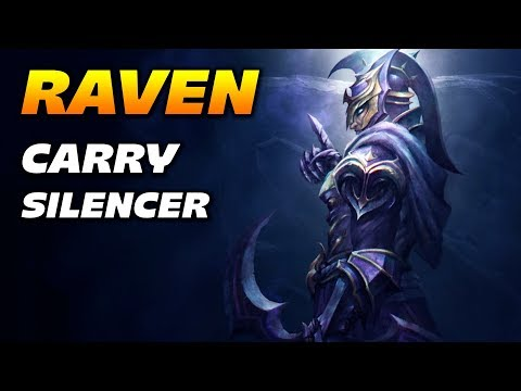 Raven Carry Silencer - Team Geek Fam - Dota 2 Pro Gameplay