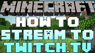 How To Stream To Twitch.tv Using Minecraft's Built In Streaming Service(Get Partnered Today: http://www.crysis.tv/Partners Follow Me On Twitch!: http://Twitch.tv/NicsGames How To Install Custom Maps: ..., 2013-12-15T00:31:24.000Z)