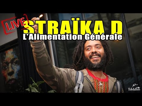 Straïka D - backed by Gravity Sound & Party Time [Live] @ L'Alimentation Générale (27/07/2017)