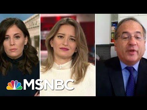 Stephanie Ruhle, Hallie Jackson & Katy Tur Press Former Trump Impeachment Lawyer | MTP Daily | MSNBC