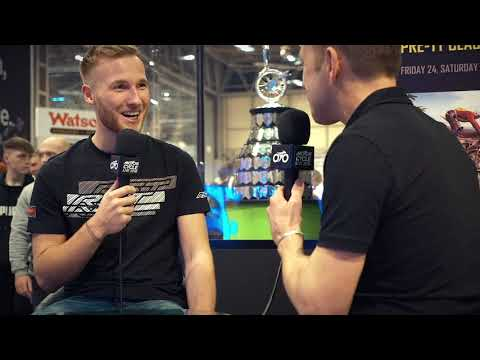 Davey Todd interview - Isle of Man TT stand - Motorcycle Live | TT Races Official