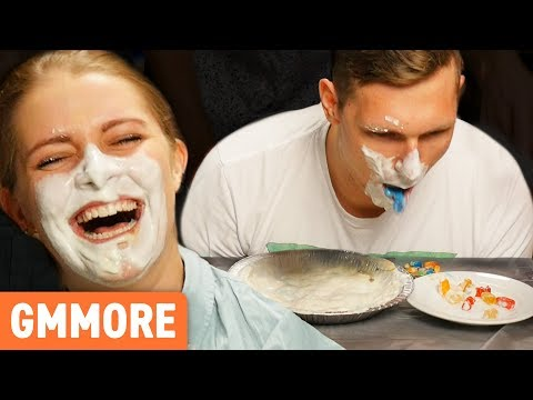 Gummy Bear Pie Eating Contest
