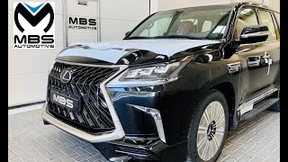 2020 Lexus LX 570 MBS Autobiography with Dark Rose 4 Seater