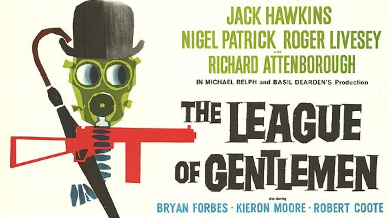 THE LEAGUE OF GENTLEMEN (1960), Jack Hawkins, Richard Attenborough ...