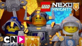 Книга монстров, часть 2 (серия целиком) | Nexo Knights | Cartoon Network