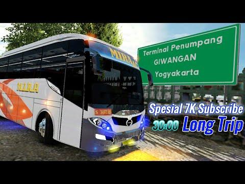 Spesial Lintas Selatan bus Mira 7k Subscribe || Ets2 Indonesia
