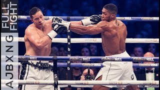 Full Fight | Anthony Joshua Vs Joseph Parker UD