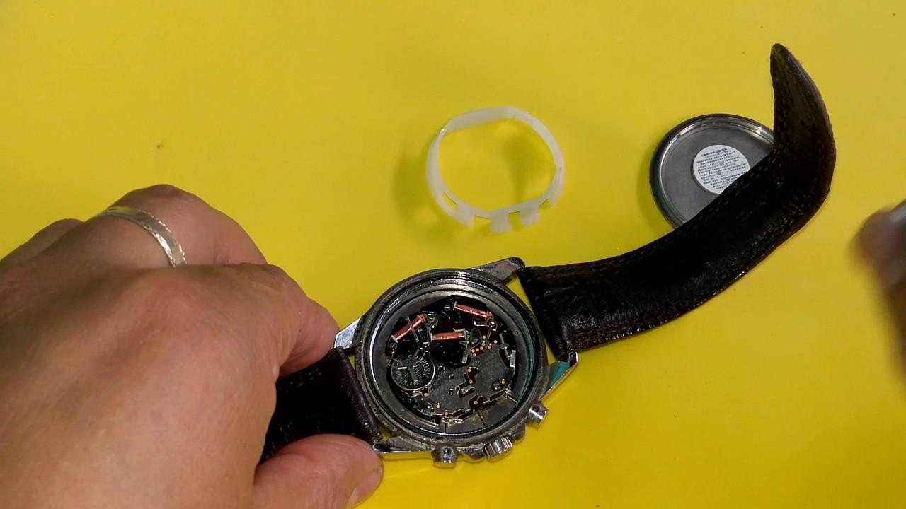 762e58692bb8 Change the battery Casio Edifice (como cambiar pila a un reloj Casio Edifice )