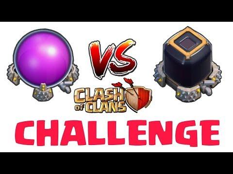 ELIXIR VS DARK CHALLENGE IN CLASH OF CLANS