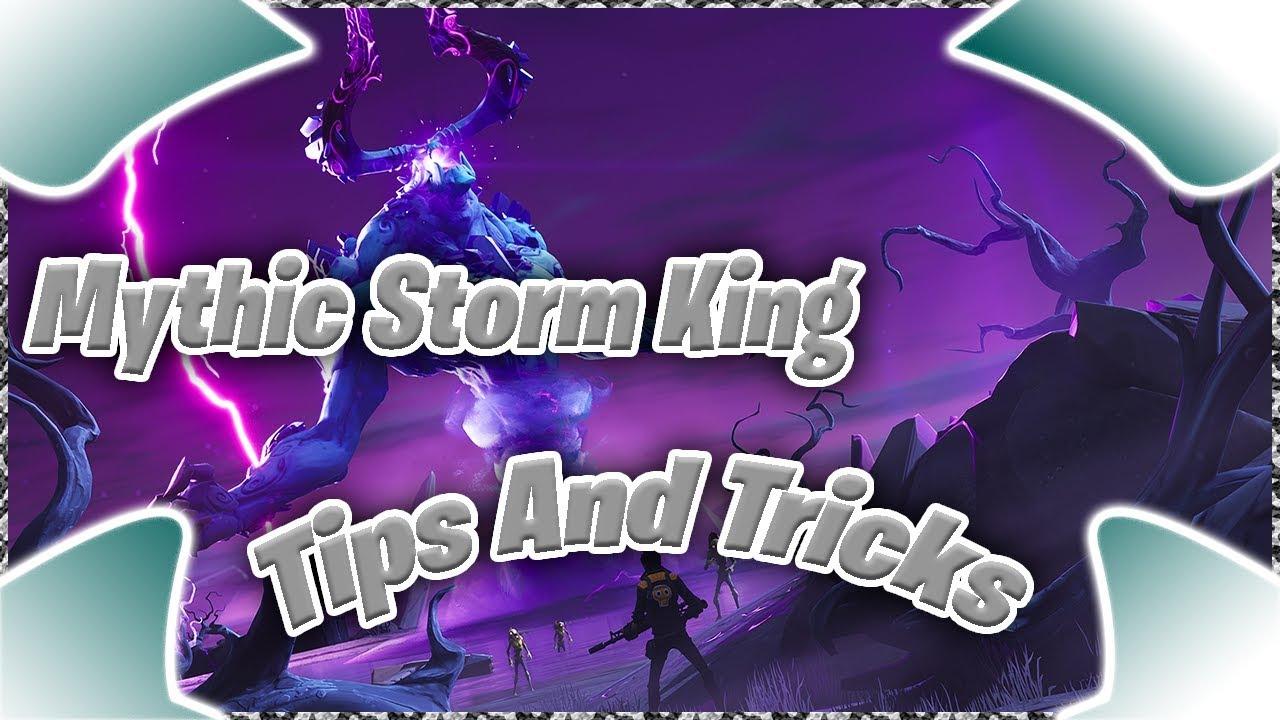 Fortnite Storm King Glitch Mythic Storm King Tips And Tricks Fortnite Stw Gamer Universe