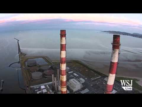 Beautiful Drone Footage of 'Ugly' Chimneys