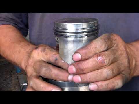 Установка поршневых колец и поршней в двигатель ваз 2101 2107