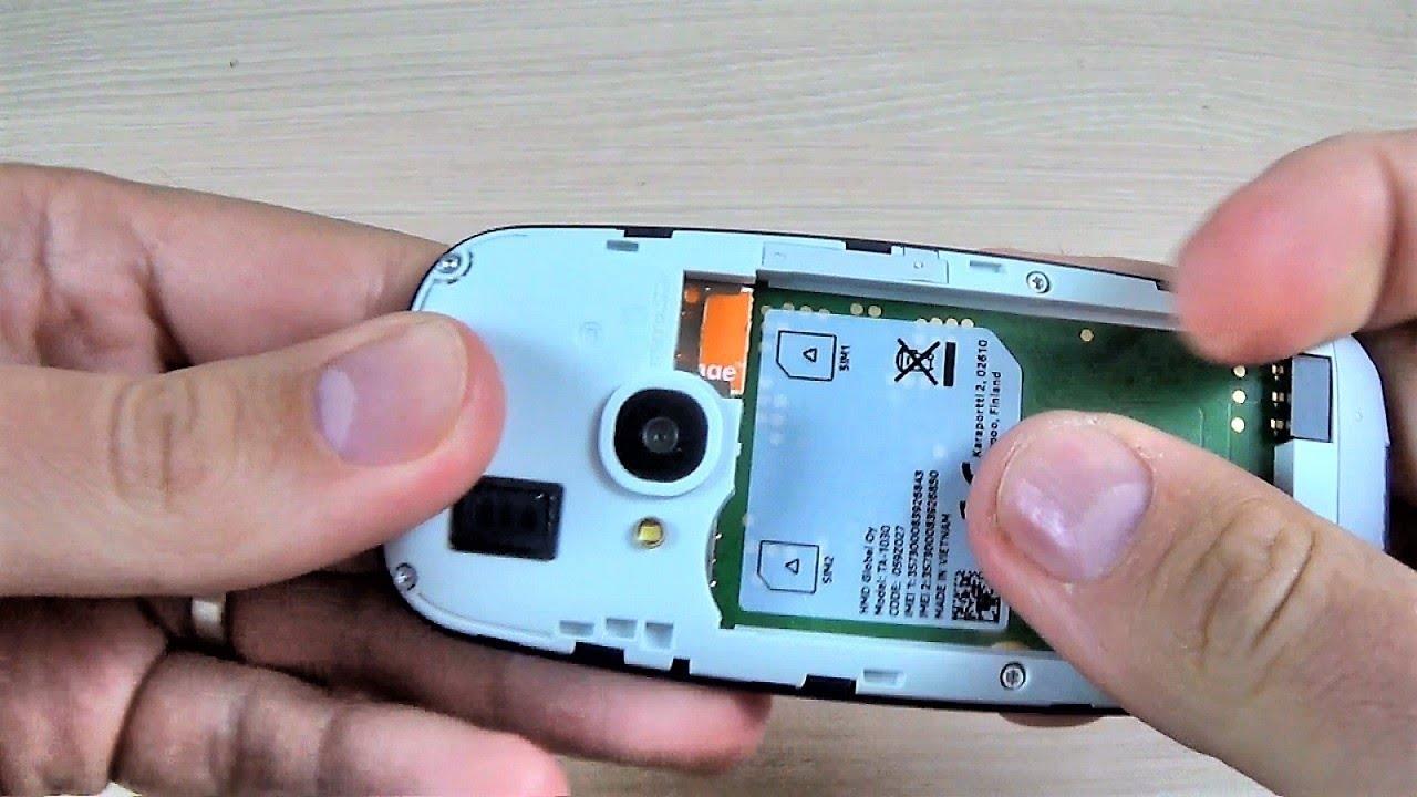 how to open nokia 3310