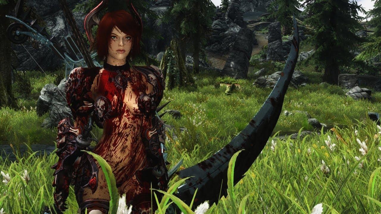 Skyrim: Nighthawk Series Weapon Set (HD)