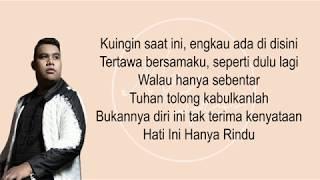 Download Andmesh Kamaleng - Hanya Rindu (Lirik)