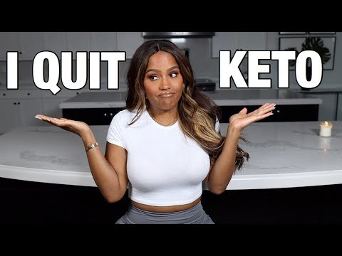 WHY I QUIT THE KETO DIET | MAKEUPSHAYLA