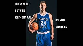 Jordan Meyer - c/o 2018 - Summer AAU Highlights (Bellevue, Anaheim, Vegas)