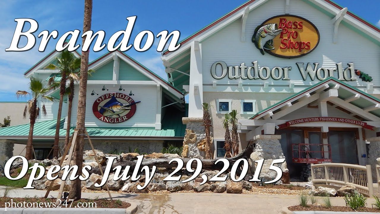 Bass Pro Shops Opens July 29 2015 Brandon Fl Youtube