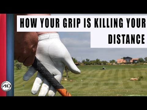 How Your Grip Is Killing your Distance| Palm Grip
