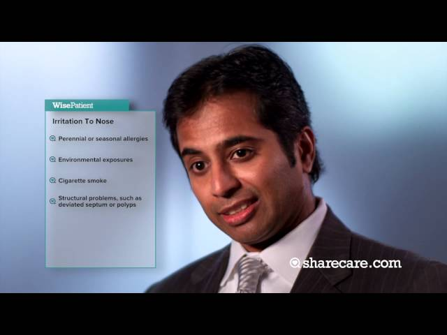Dr. Satish Govindaraj Discusses  the Causes of Sinusitis