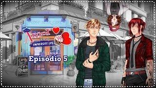 Amor Doce University Life - Episódio 5 Completo (Nathaniel/Castiel)