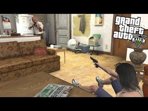 ROBBING HOUSES IN GTA 5!!! 6 (GTA 5 REAL LIFE PC MOD) thumbnail