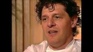 Marco Pierre White and apprentice Gordon Ramsay