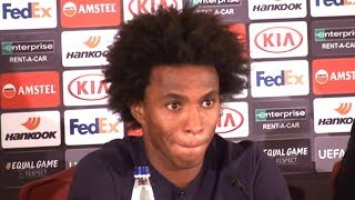 Willian Full Pre-Match Press Conference - PAOK v Chelsea - Europa League