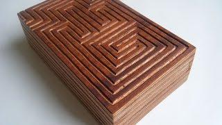 Maze Puzzle Box Tutorial