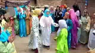 Fiesta bereber en Ifoulou, Alto Atlas, Marruecos