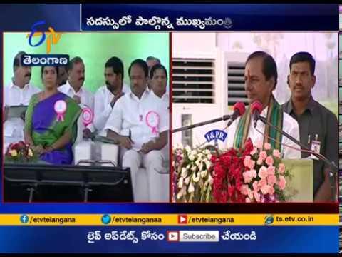 CM KCR Speech | at Farmers Coordination Meeting | Live From Rajendra Nagar | Hyderabad