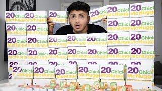 1000 CHICKEN NUGGETS BESTELLEN!!! 😂