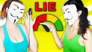 EVIL HACKER GIRL VS. HACKER GIRL LIE DETECTOR! BATTLE ROYAl!
