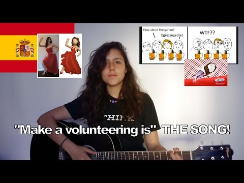 """""""Make a volunteering is""""  THE SONG!"""