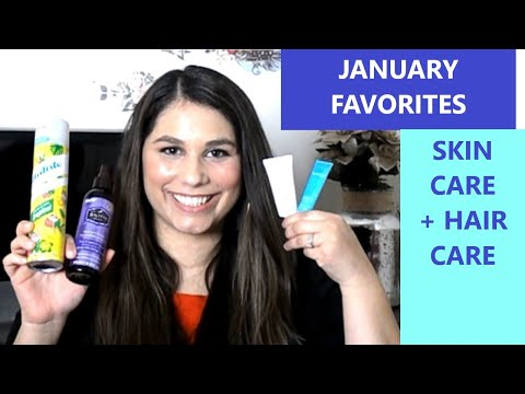 january-favorites:-skin-care-and-hair-care