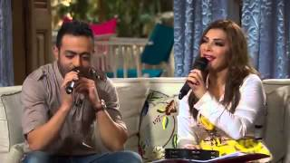 Tamer Ashour With Asala Teslam Live From Soula Show / تامر عاشور و اصالة اغنيه تسلم من برنامج صولا