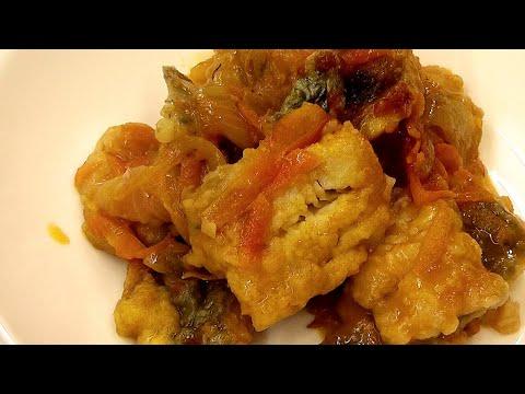 РЫБА ХОКИ (ХОКА) ПОД МАРИНАДОМ - ОЧЕНЬ ВКУСНАЯ (Идеально сбалансирована) Hoki Fish Recipe