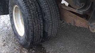 1997 Chevrolet 3500 Dump truck, VIN:1GBJK34F1VF025531. Motor 6.5 liter diesel, miles 119356.