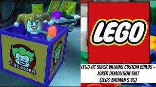 LEGO DC Super Villains Custom Builds - Joker Demolition Suit (LEGO Batman 3 VG)