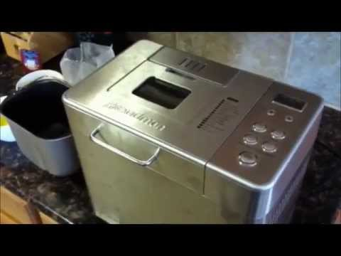 Breadman 2lb. Professional Bread Machine Video Product Review