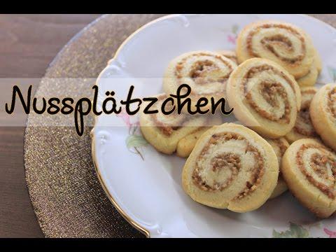 Nussplätzchen Backen Plätzchen Rezepte Für Weihnachten Einfach