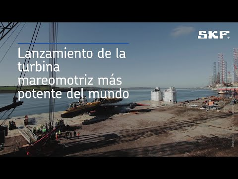 La turbina mareomotriz más potente del mundo