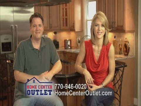 Home Center Outlet Tv Commercial Actress Jennifer Gullick And Actor