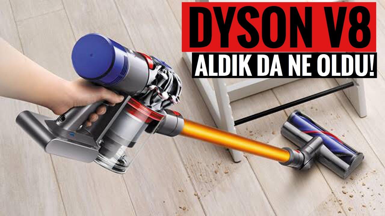 Neden Dyson V8 Absolute aldım? Yeterli mi? İncelemesi/kutu açılışı ve karşılaştırmalar..
