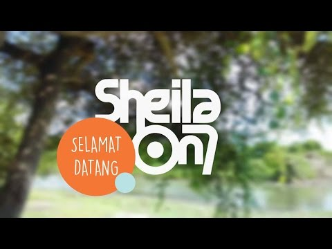 Cover Lagu Selamat Datang - Sheila On 7  + Typography