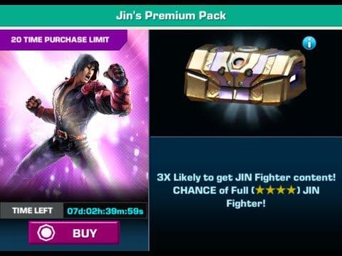 Tekken Mobile - Jin's Premium Pack Openings