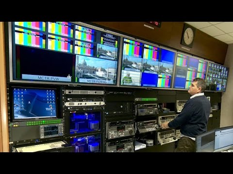 Inside the Vatican's high-tech TV operation