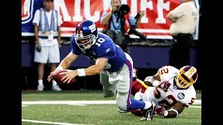 All 6 of Eli Manning's Career Rushing Touchdowns (2004-2017)