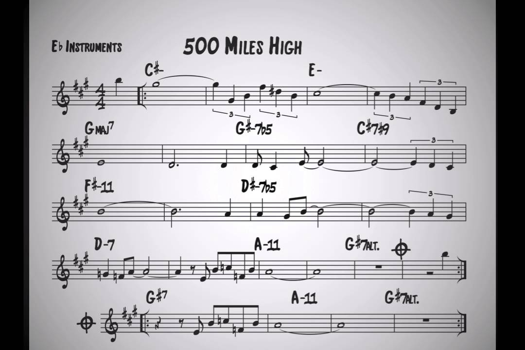 """500 Miles High"" by Chick Corea"