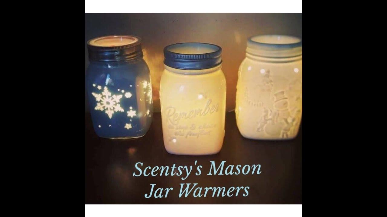 Scentsy's Mason Jar Warmers - YouTube